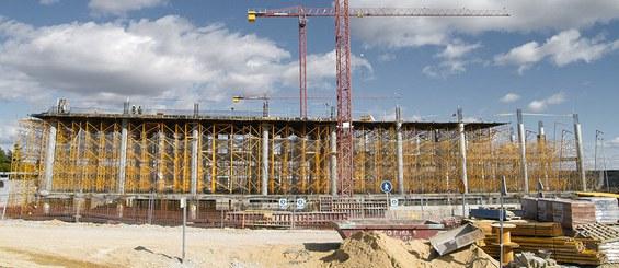 Cimbra ligera G para construcciones de edificación