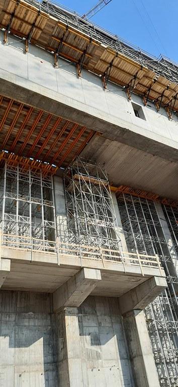 Cimbra MK demuestra su gran capacidad de carga en la construcción de la Planta de Conversión de Residuos en Pavía