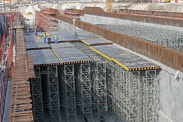 Lusail Boulivard Tunnel, Qatar
