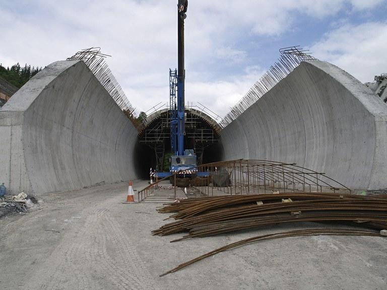 Y vasca, Túnel de Tolosa