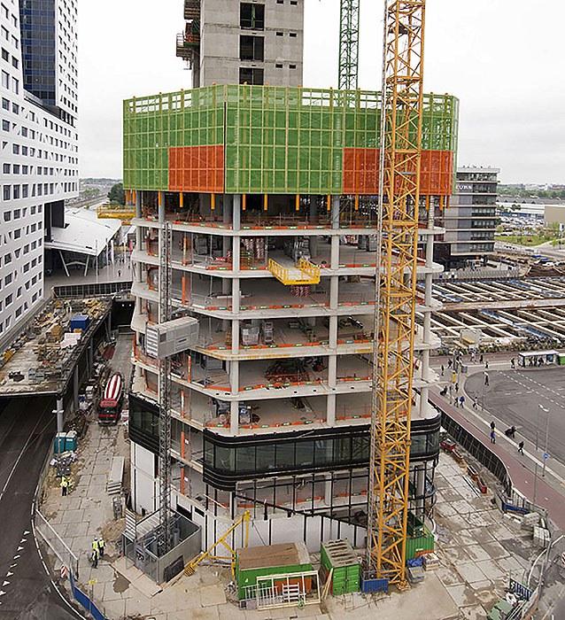 Protección perimetral HWS en el centro de Utrecht, Países Bajos