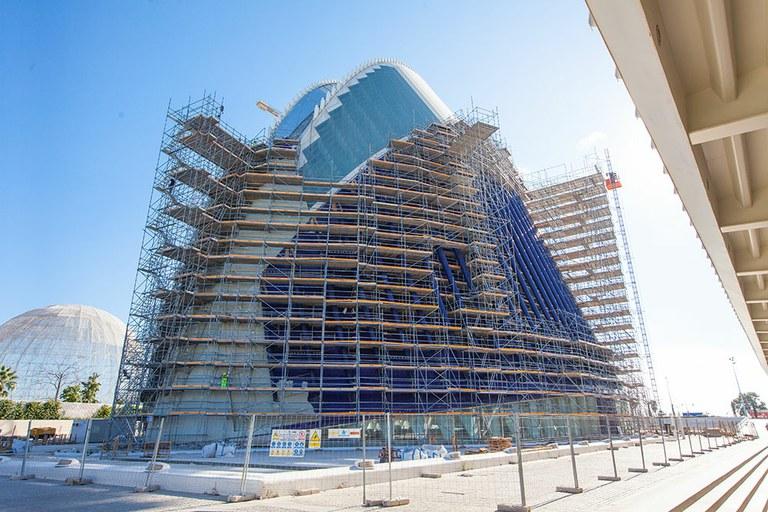 Rehabilitación del edificio Ágora, España