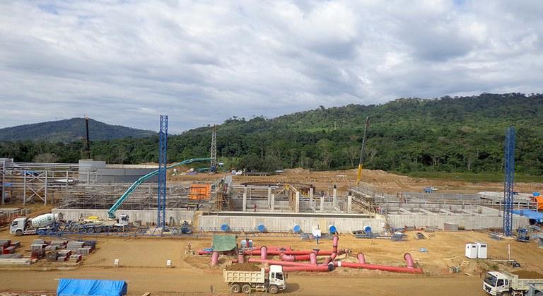 Sistemas ULMA en la mega planta de amoniaco y urea en Bolivia
