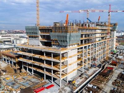 Soluciones innovadoras ULMA en la construcción del Hospital de Galeazzi, Italia