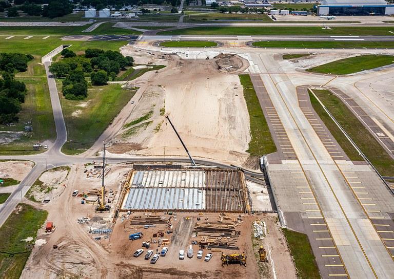 Soluciones premontadas en el Aeropuerto International de Tampa, EE.UU