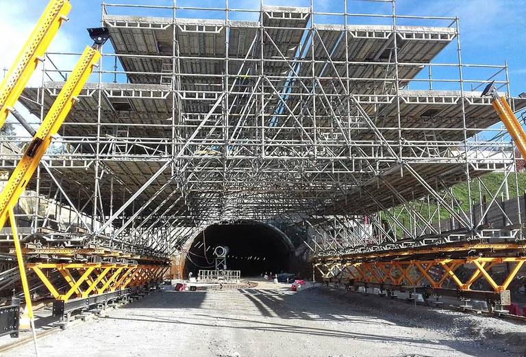 Túnel Aguas Santas, Oporto, Portugal