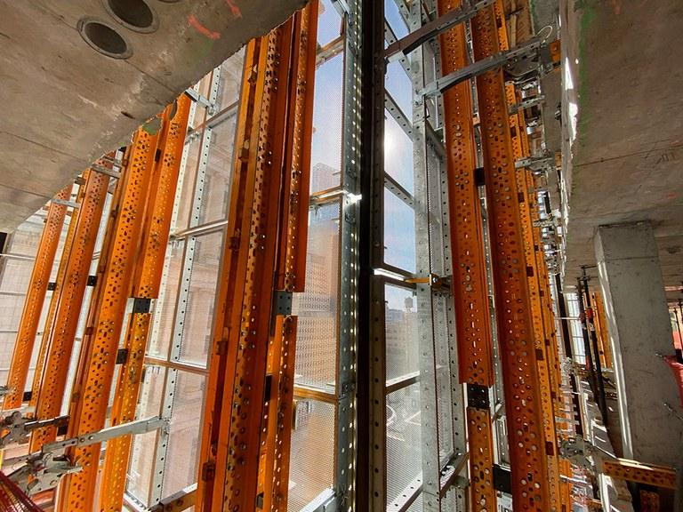 La torre 185 Broadway despunta en el distrito financiero de Nueva York
