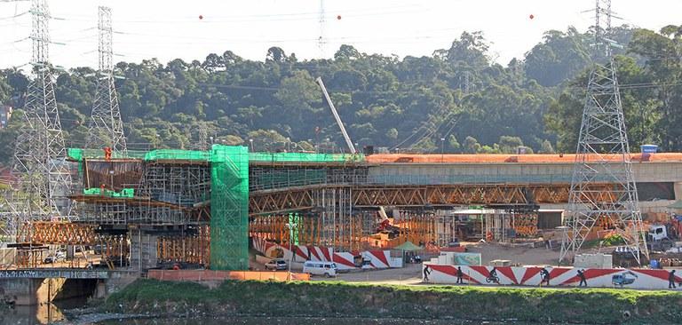 Puente Itapaiuna, São Paulo, Brasil