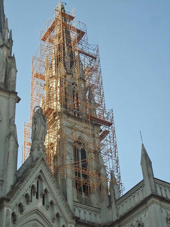 Restauración de la Iglesia del Inmaculado Corazón de María, Buenos Aires, Argentina