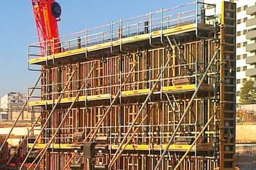 ULMA diseña la nueva plataforma de seguridad SBU para trabajos de construcción